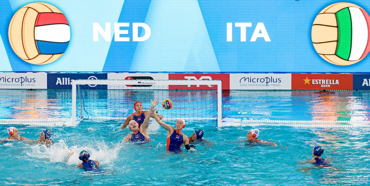 Netherlands Water Polo Ties with Italy after Incredible Twists