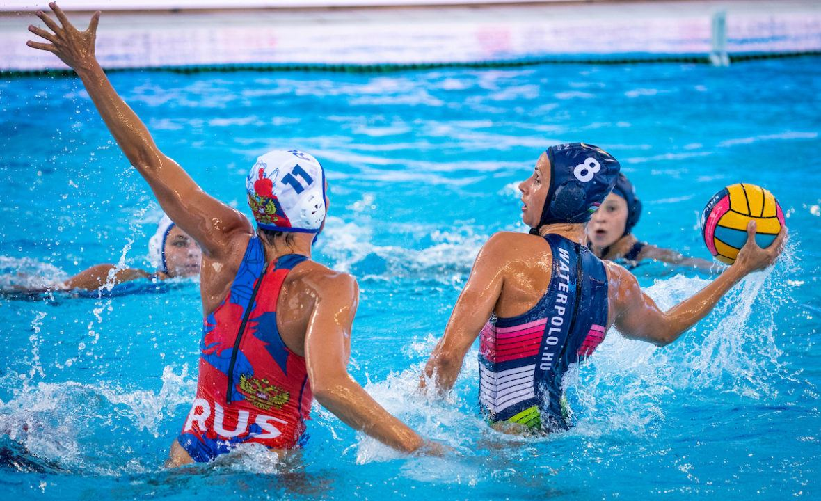 Hungary Edges Russia 8-7 at European Water Polo Championships