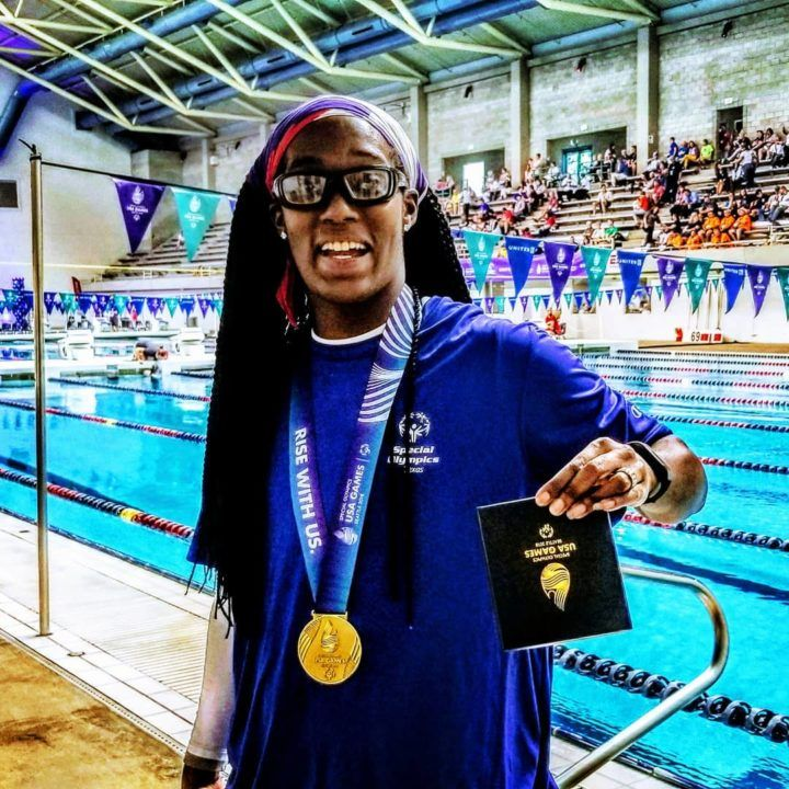Ashton Smith Wins Gold in 100 Fly and With Mindset