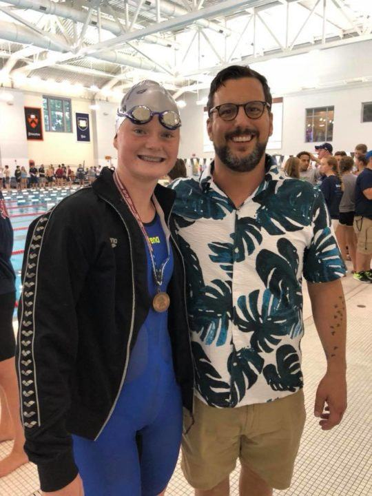 Natalie Mannion Breaks Beisel Record to Close 2018 NE Senior Champs