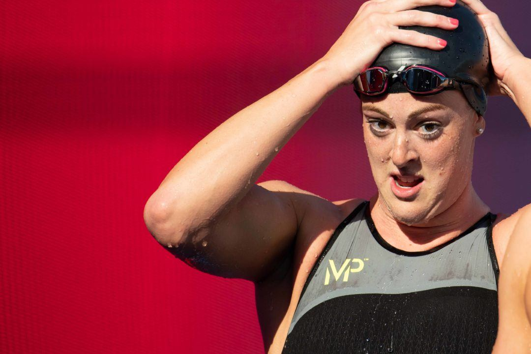 WR Watch? American Women's 4×200 Free Relay Aggregate Time: 7:43.9