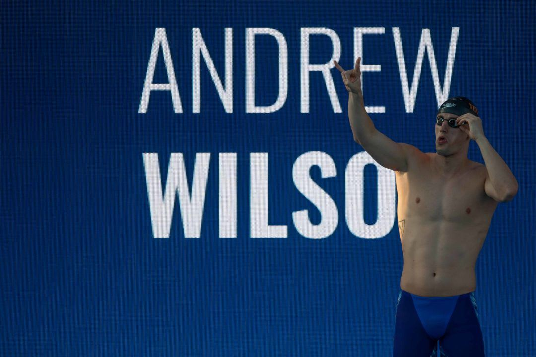 Andrew Wilson Becomes 4th American Ever Under 59 Seconds in 100 Breast