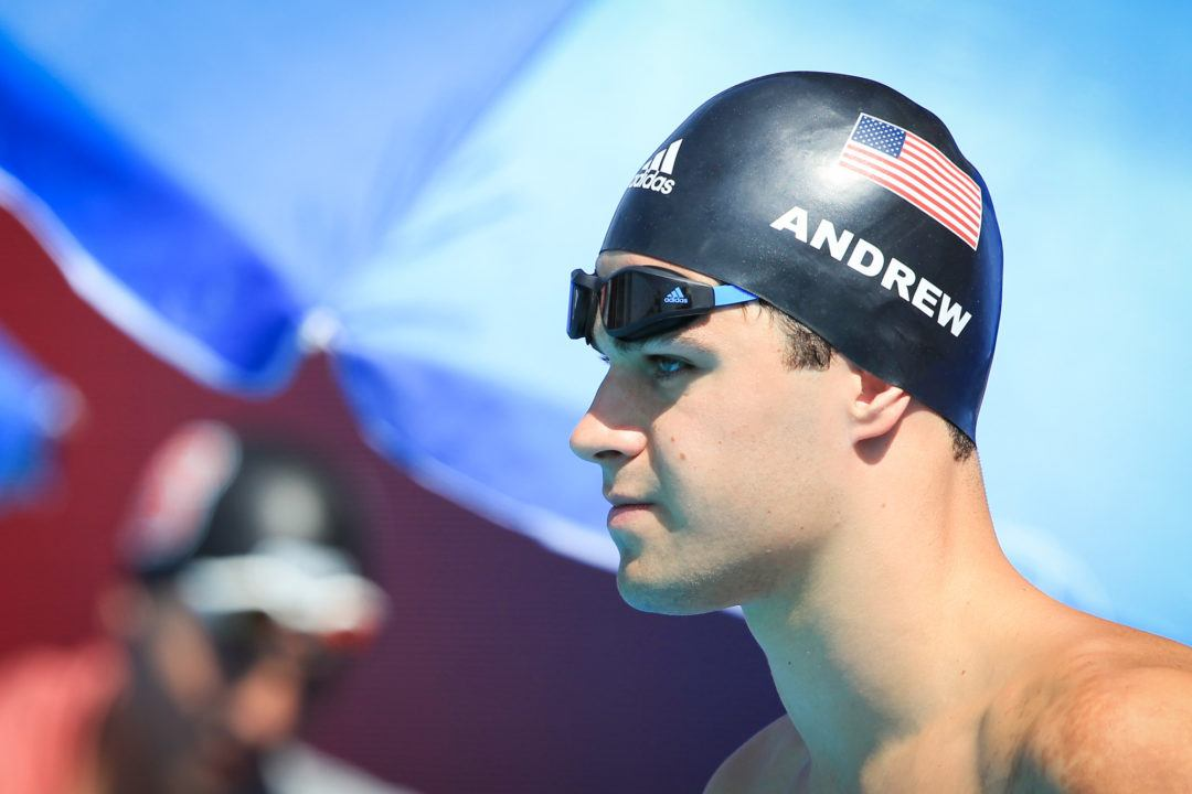 Michael Andrew Swam Workouts Coached by Gregg Troy and Teri McKeever
