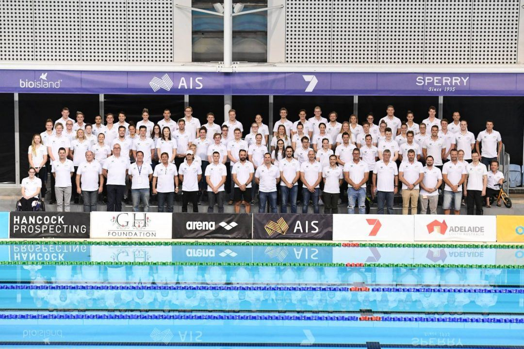 Australia Names 35 Swimmers for Para Pan Pacs Meet