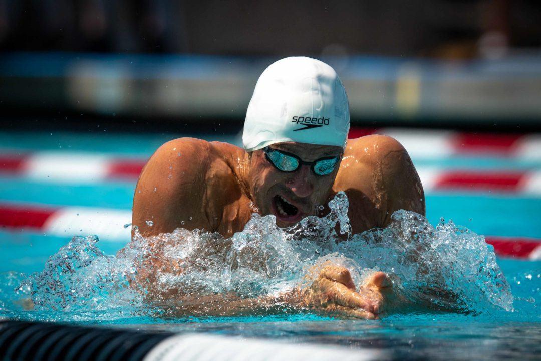 Brandon Fischer Swims 1:01.06 Lifetime Best in 100 BR at 30