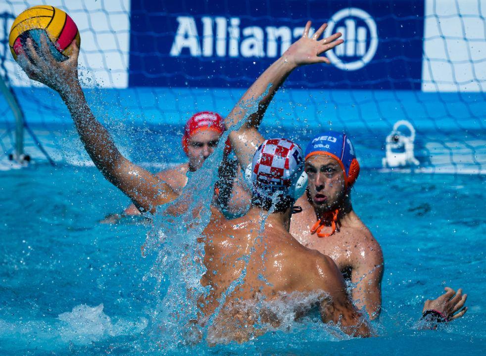 Croatia, Hungary, Italy, Serbia Claim Worlds WP Men's Quarterfinal Spots