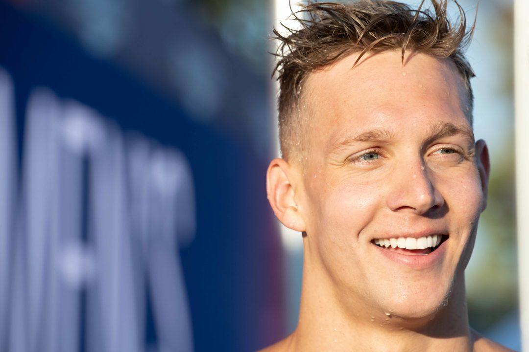Caeleb Dressel Swims 400 IM at Gator Distance Meet on Saturday.