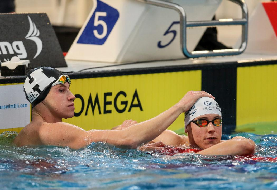 Veteran Meets Youth in Men's 50 Free at NZ Open