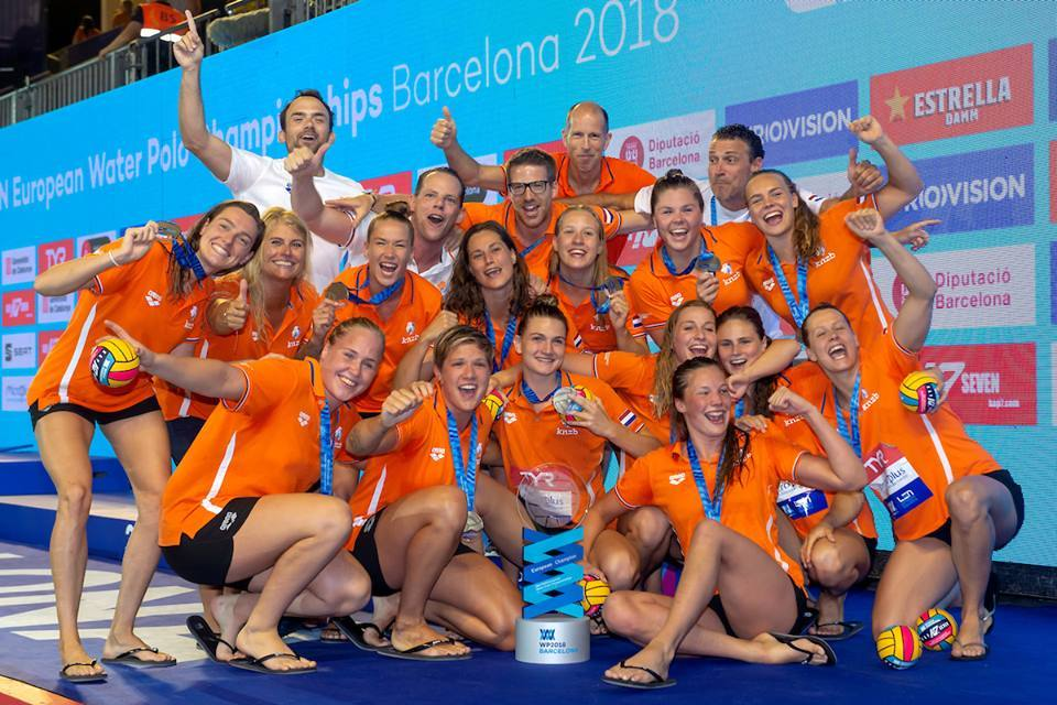 Netherlands Wins European Women's Water Polo Title