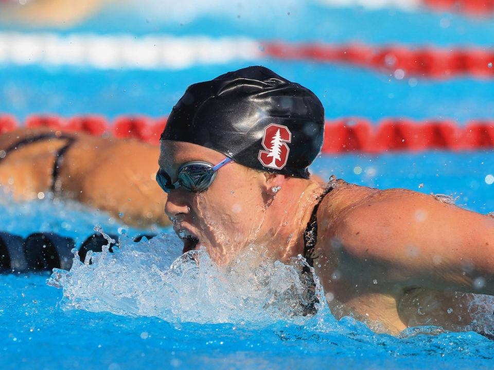 2018 Swammy Awards: Women's NCAA Swimmer of the Year Ella Eastin