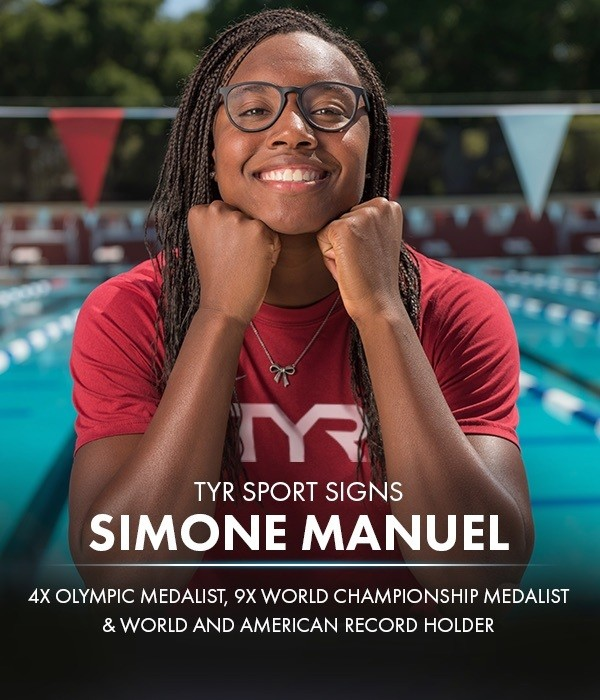 Olympic, World Champ Simone Manuel Signs On With TYR