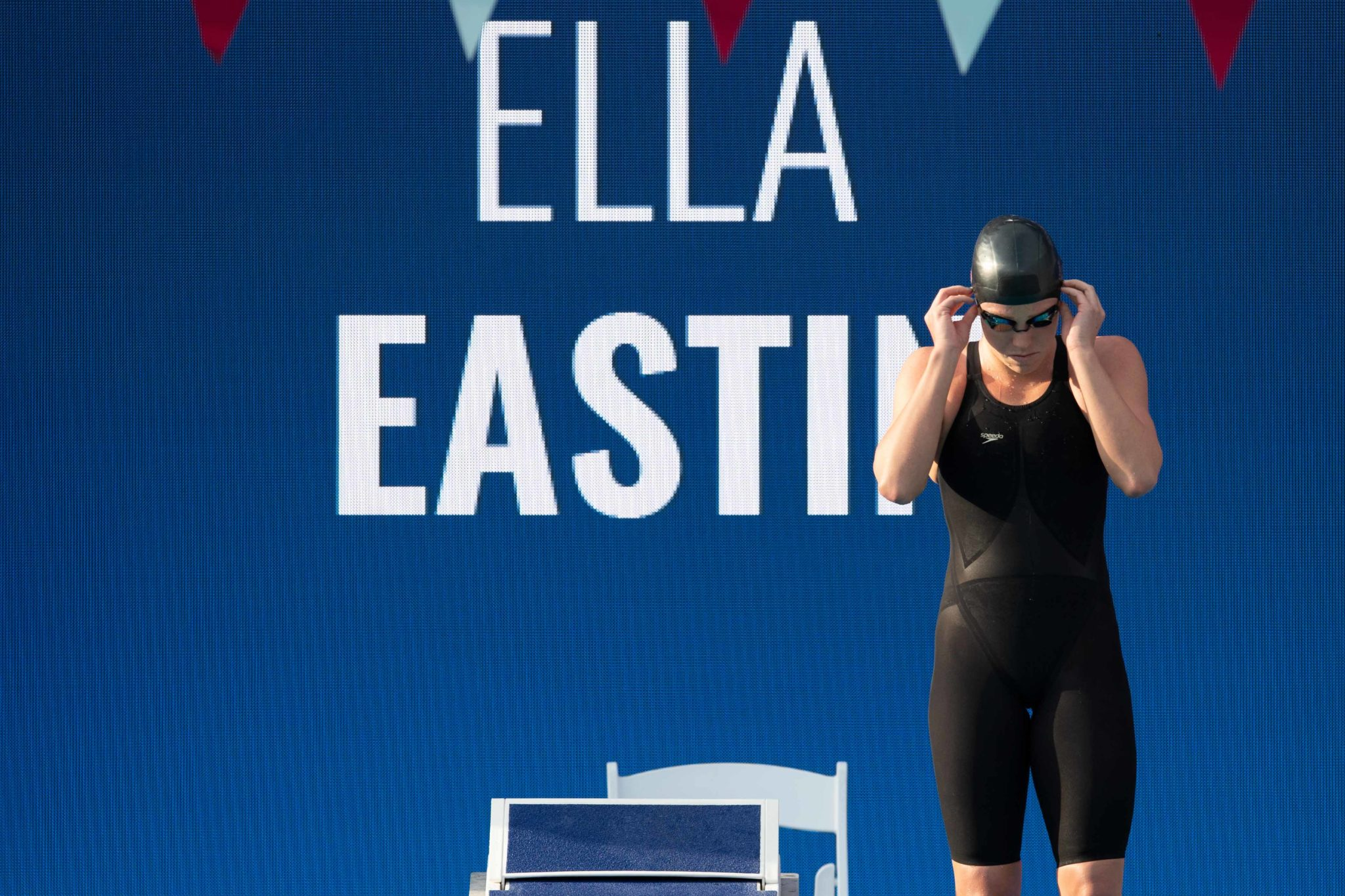 Ella Eastin Swims Pair Of 200 IM Best Times After Bout With Mono