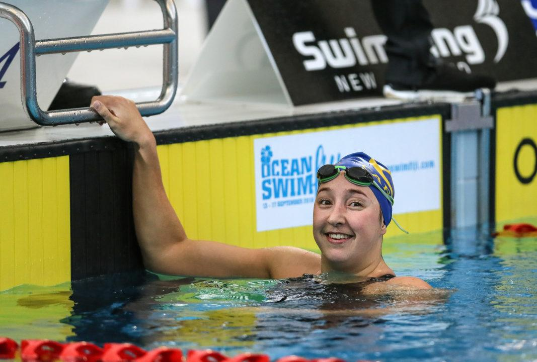 Emma Robinson Hits Pan Pacs Standard, Untapered, on Day 1 in NZ