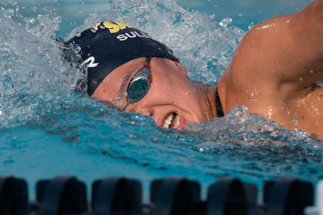 Erica Sullivan Swims 9:17 in 1000 Free; Jumps to #3 All-Time