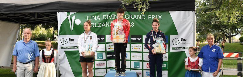 China Clinches Eight Golds at Diving Grand Prix Bolzano