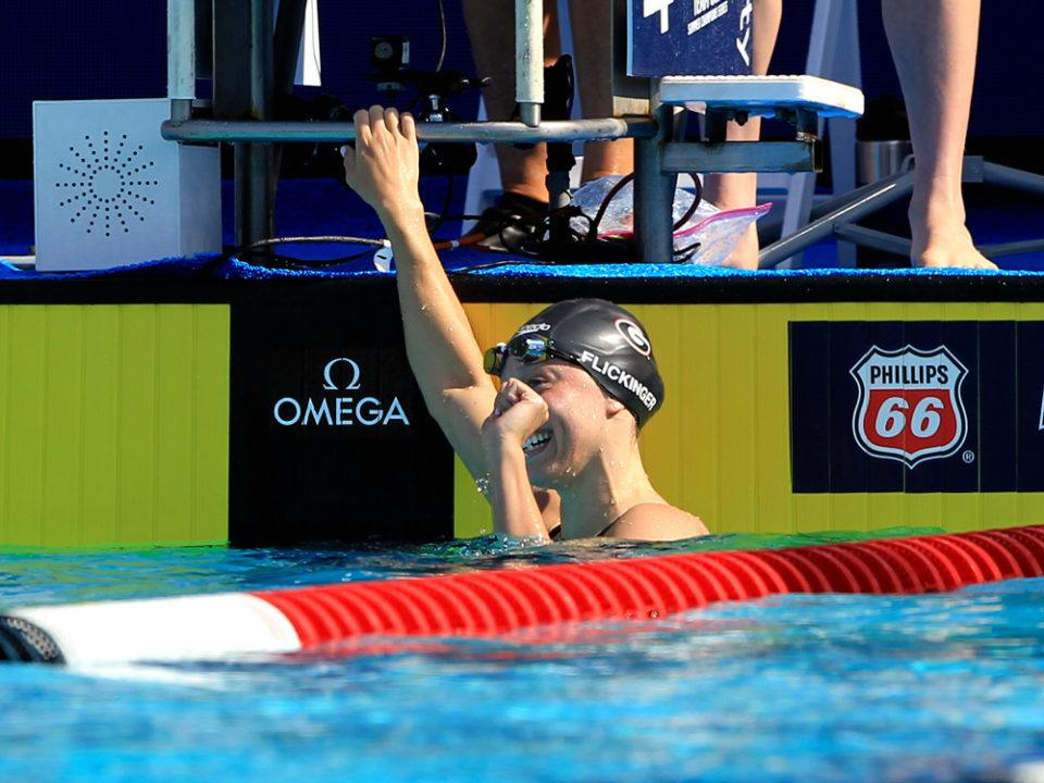 Hali Flickinger Downs Decades-Old US Open 200 Fly Record – 2:05.87