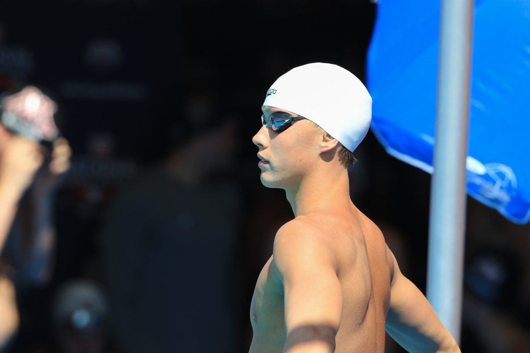 Carson Foster Breaks 15-16 National Age Group Record in 200 IM