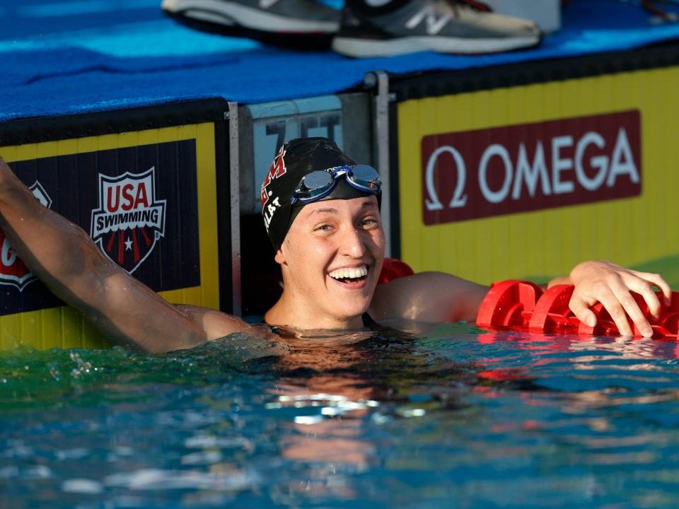 2018 U.S. Nationals Day 4: Bethany Galat Scratches 100 Breast A Final