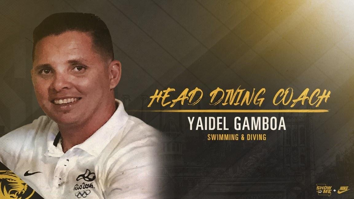 Mizzou Named Yaidel Gamboa as Head Diving Coach