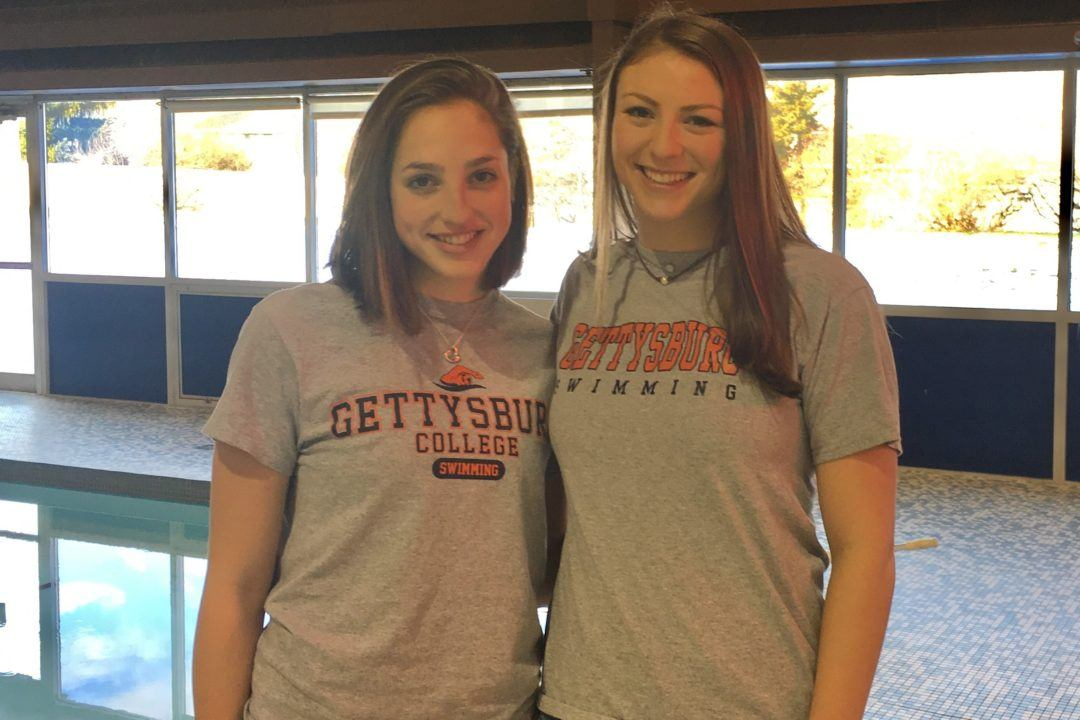 SVY's Katie Cooper and Megan Wojnar to Swim for Gettysburg
