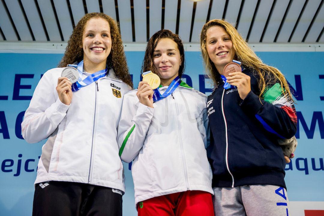 Junioren EM: Silber für Celine Rieder, Bronze für Lagenstaffel