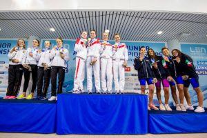 JEM: DSV Nachwuchs gewinnt 7 Medaillen in 8 Staffelentscheidungen