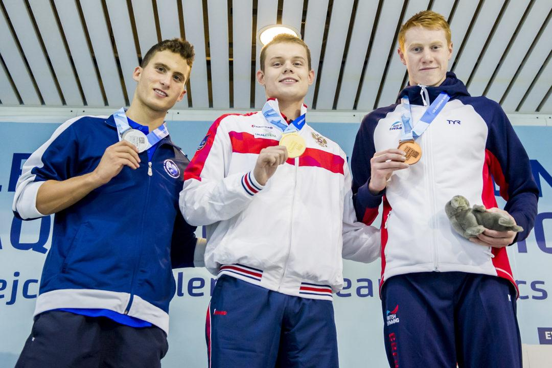 Four Men Earn First Olympic Berth On Opening Day of Russian Trials