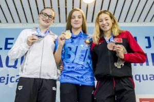 Anastasiya Shkurdai Lowers Euro Junior Meet Record In 100 Fly