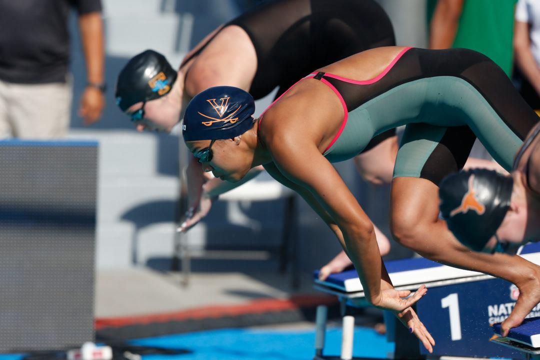 Ultra Swim Swimmer of the Month: UVA's Morgan Hill & The Value of .01