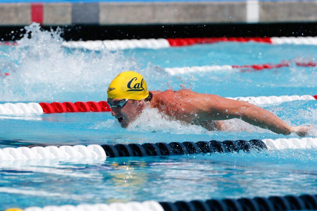 Cal Men Lead Swimulator Rankings