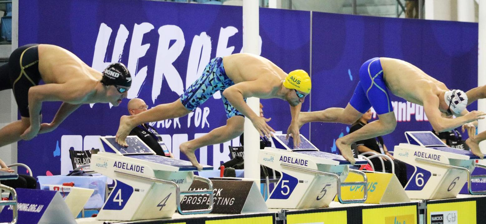 Aussie Swimmer Jack McLoughlin Gets Set for Pan Pacs