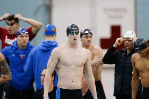 Tate Jackson's 48.20 Leads Longhorn Onslaught In Men's 100 Free