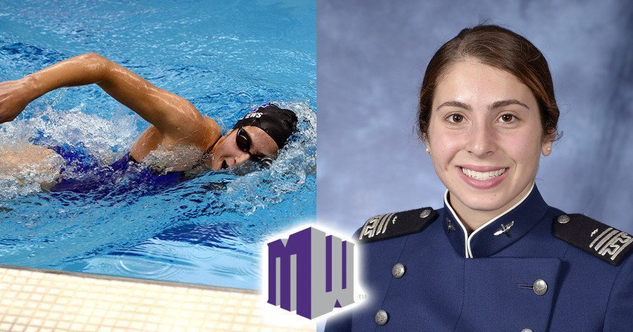 Air Force's Jinan Andrews Named MWC Female Scholar Athlete of Year