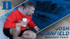 Duke Adds Former Gardner-Webb Asst. Josh Stanfield to Swimming Staff