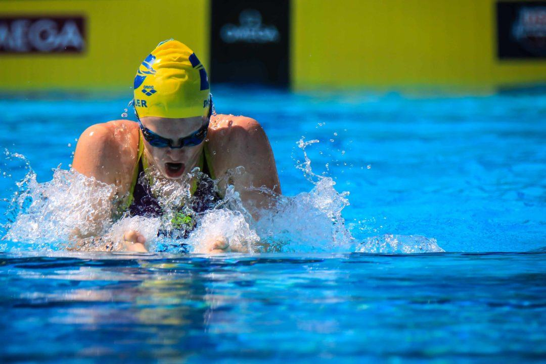 Roadmaps – Mapping the Journey of US Swimming Stars: Women's 100 Breast