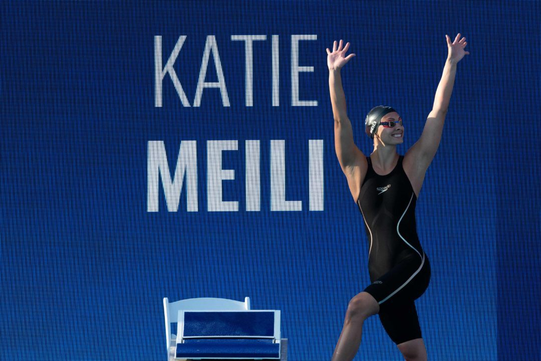 Olympic Gold Medalist Katie Meili Announces Retirement From Swimming