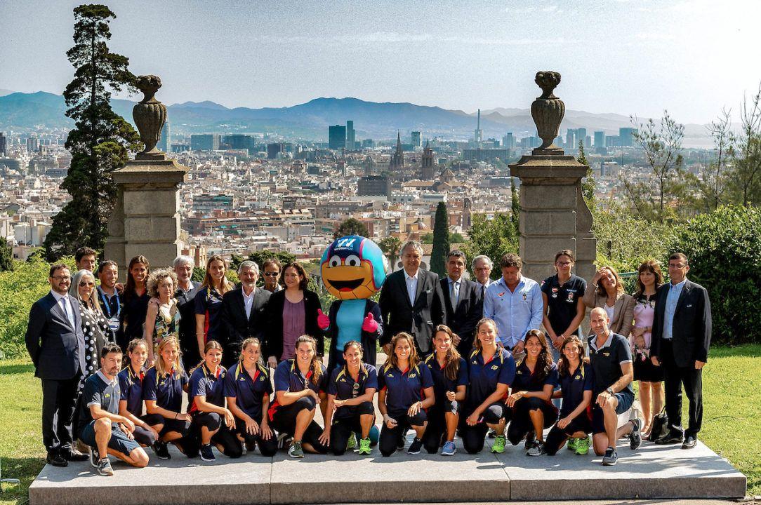 Campionati Europei di Pallanuoto. Inizia Lo Spettacolo