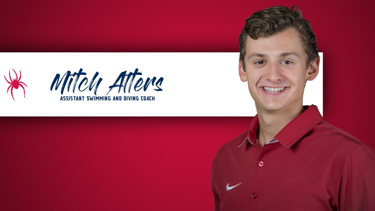 Richmond Adds Arkansas G.A. Mitch Alters as Assistant Coach