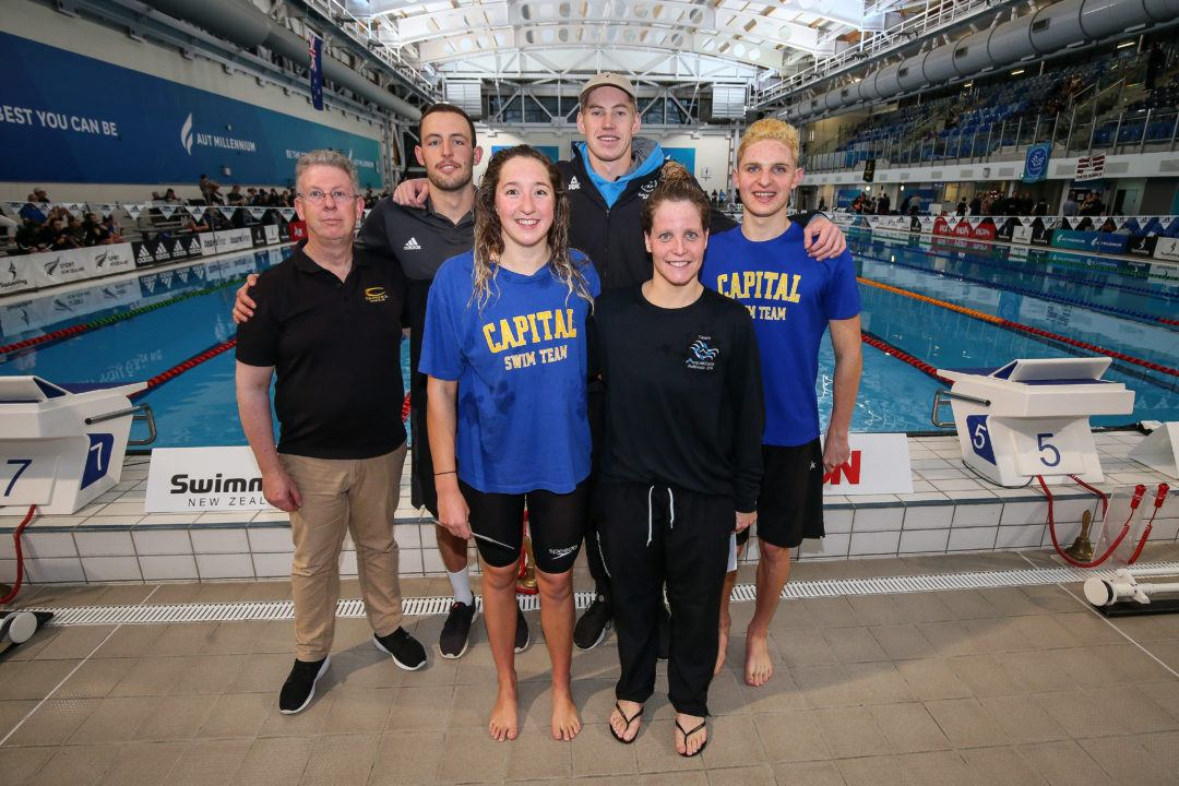 Swimming New Zealand Names 5-Swimmer Roster for 2018 Pan Pacs