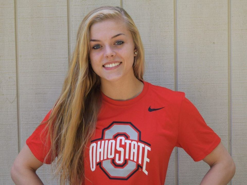 1:01 Breaststroker Aislinn Walsh Sends Verbal to Ohio State