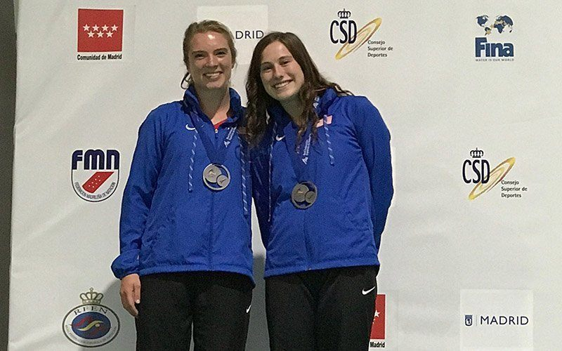 Rosendahl, Young Take Silver on Day 2 of Madrid Grand Prix