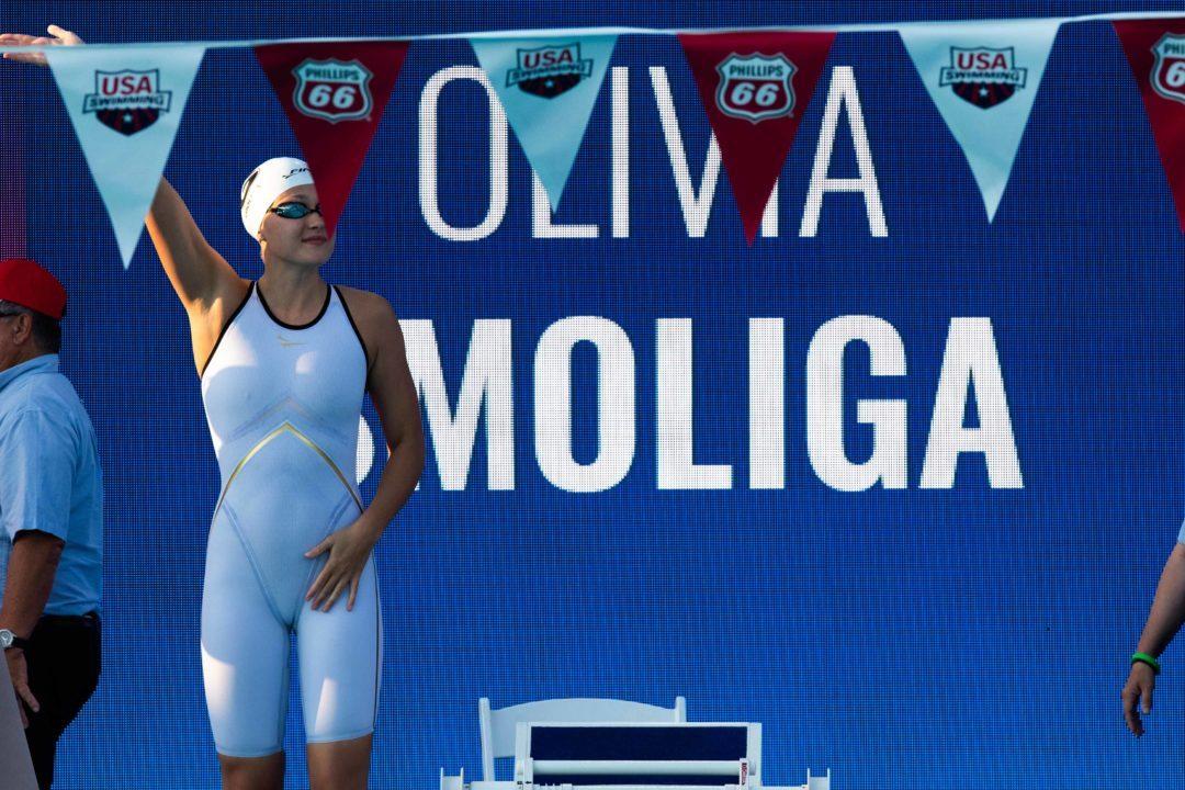 Hangzhou: Olivia Smoliga six ans après à nouveau championne du monde en petit bassin