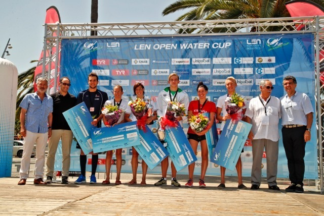 Rasovszky Beat French World Champs at Open Water Cup in Barcelona