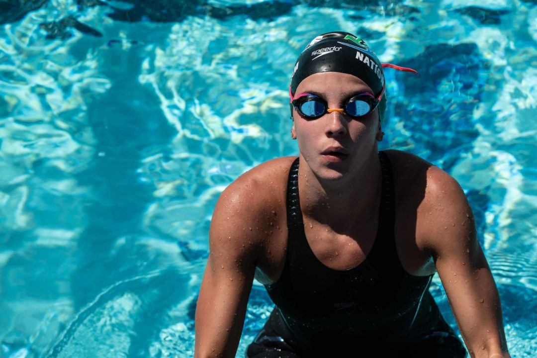 17-Year-Old Regan Smith Shatters Missy Franklin's 200 Back World Record