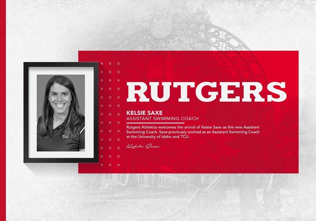 Rutgers Hires Kelsie Saxe as New Assistant Coach