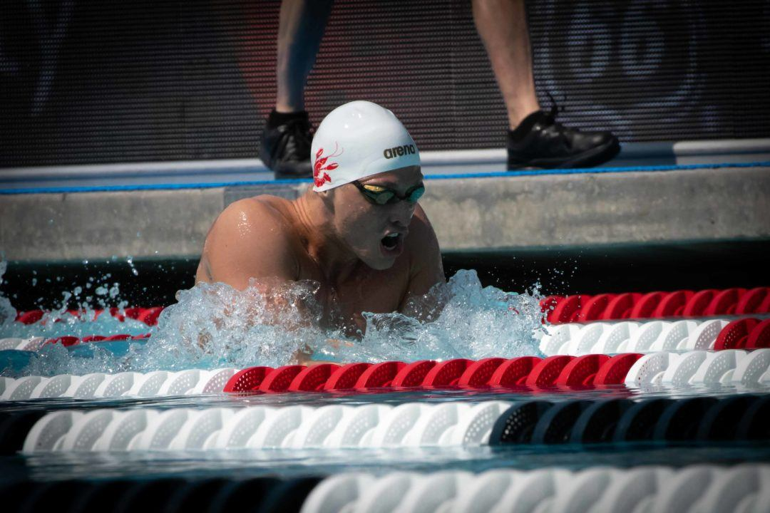 Sam Stewart Doubles with Lifetime Best 100 FR, 1:59 200 IM at Cary Sectionals