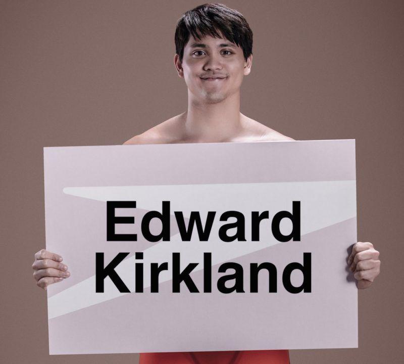 Joseph Schooling Signed Speedos Contest Winner – Edward Kirkland