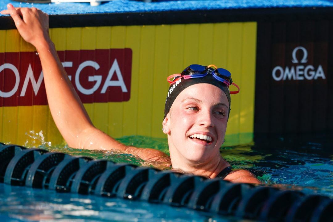 Ultra Swim Swimmer of the Month: Regan Smith, Riptide