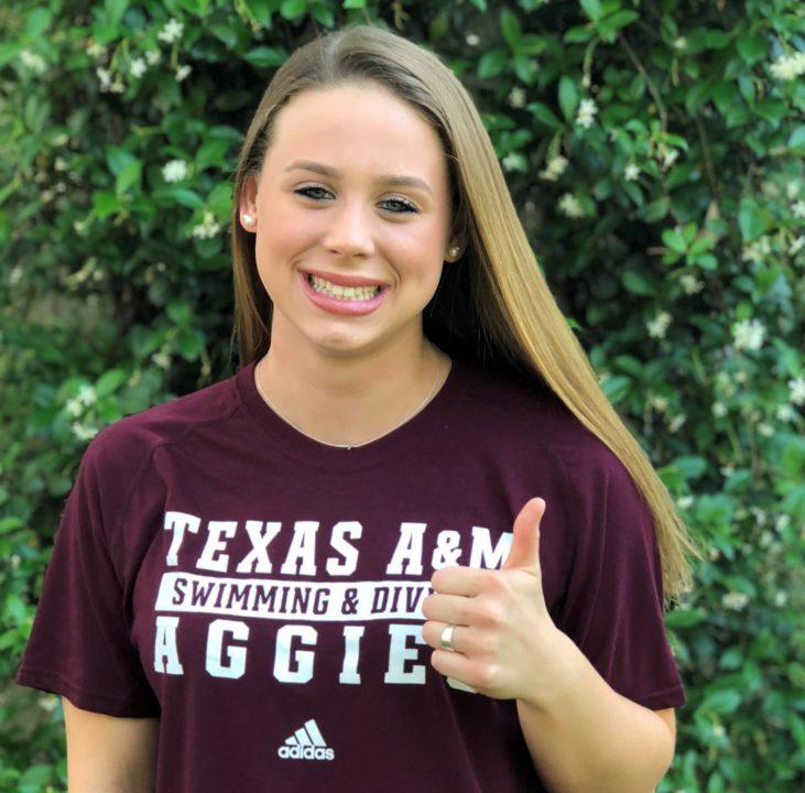 Texas A&M Secures Verbal from 2x UIL 6A State Champ Emma Stephenson