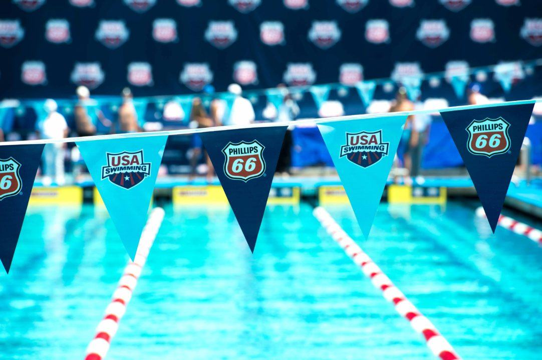 2018 U.S. Nationals Day 1: Brinegar (1500 free, #8), Rooney (200 fly, #15) Scratch out; Eastin Still in